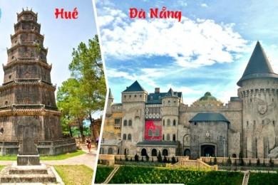 Đà Nẵng - Sơn Trà - Hội An - Bà Nà - Huế - Động Phong Nha